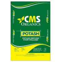 Potash derived from molasses