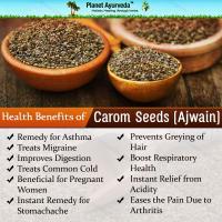 Ajwain seed, Sesame seed