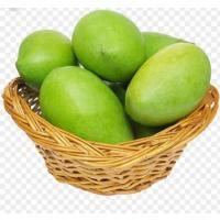 Raw organic mango